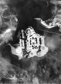 Angkor #1, série Submergées (ruines d'