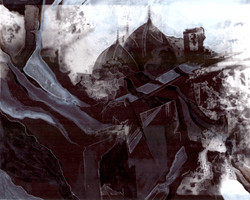 Creuser l'image (Omeyyades) #1, gravure