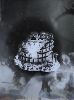 Colisée #1, série Submergées (ruines