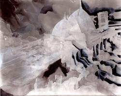 Creuser l'image (Omeyyades) #2, gravure