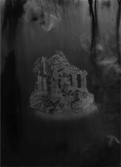 Angkor #3, série Submergées (ruines d'