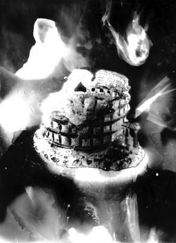 Colisée #2, série Submergées (ruines