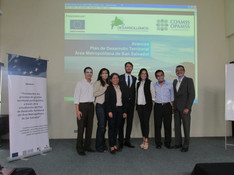 Official presentation of the new urban plan for San Salvador.