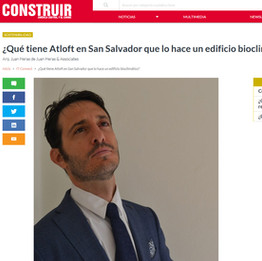 Atloft published in Construir Sostenible. 09/17.