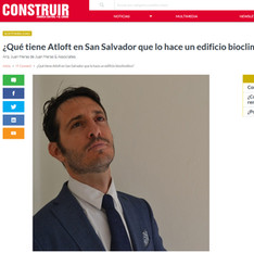 Atloft published in Construir Sostenible. 09/17.