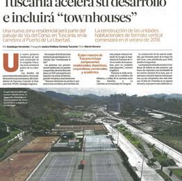Townhouses in El Salvador. 4/17.
