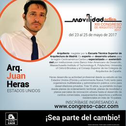 XIII International Congress of Architecture. San Jose. 05/17.