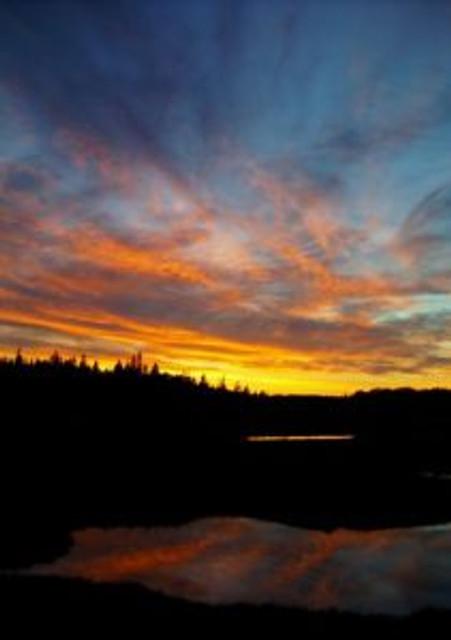 acadian sunset