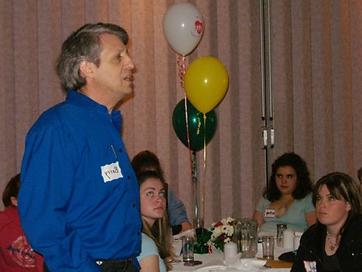 barry a volunteer appreciation diner