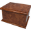Personalised Custom WALNUT Wood Effect Cremation Ashes Casket