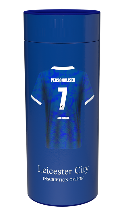 Custom Personalised Cremation Ashes Casket Scatter Tube FOOTBALL TEAM LEICESTER CITY
