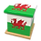 Personalised Custom WELSH FLAG Cremation Ashes Casket