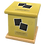 Thumbnail: Pet Ashes Casket LEATHER (DAISY)