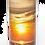 Custom Personalised Cremation Ashes Casket Urn Scenic Landscape SUNSET HAZE
