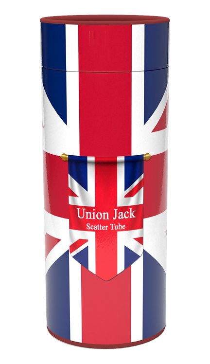 Custom Personalised Cremation Ashes Scatter Tube COUNTRY COUNTY FLAGS