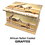 Ashes Casket AFRICAN SAFARI ANIMALS Personalised Custom Design