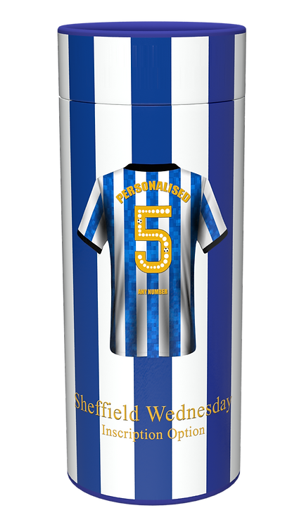 Custom Personalised Cremation Ashes Casket Urn FOOTBALL TEAM SHEFFIELD WEDNESDAY