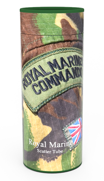 Custom Personalised Cremation Ashes Casket Urn Military Armed Service Forces ROYAL MARINE