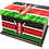 Personalised Custom KENYA KENYAN FLAG Cremation Ashes Casket