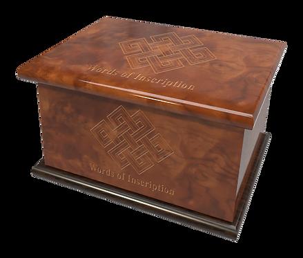 Custom Personalised Cremation Ashes Casket RELIGIOUS SPIRITUAL FAITH BUDDHIST
