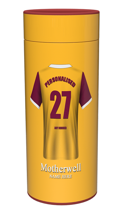 Custom Personalised Cremation Ashes Casket Urn FOOTBALL TEAM MOTHERWELL