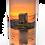 Custom Personalised Cremation Ashes Casket Urn Scenic Landscape CASTLE STALKER SCOTLAND SCOTTISH