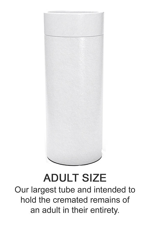 Ashes Scatter Tube ADULT SIZE