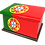 Personalised Custom Cremation Ashes Caskets COUNTRY AND BRITISH COUNTY FLAGS PORTUGAL