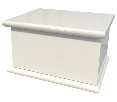 Bespoke and personalised Cremated Remains Casket for burial of ashes in any design