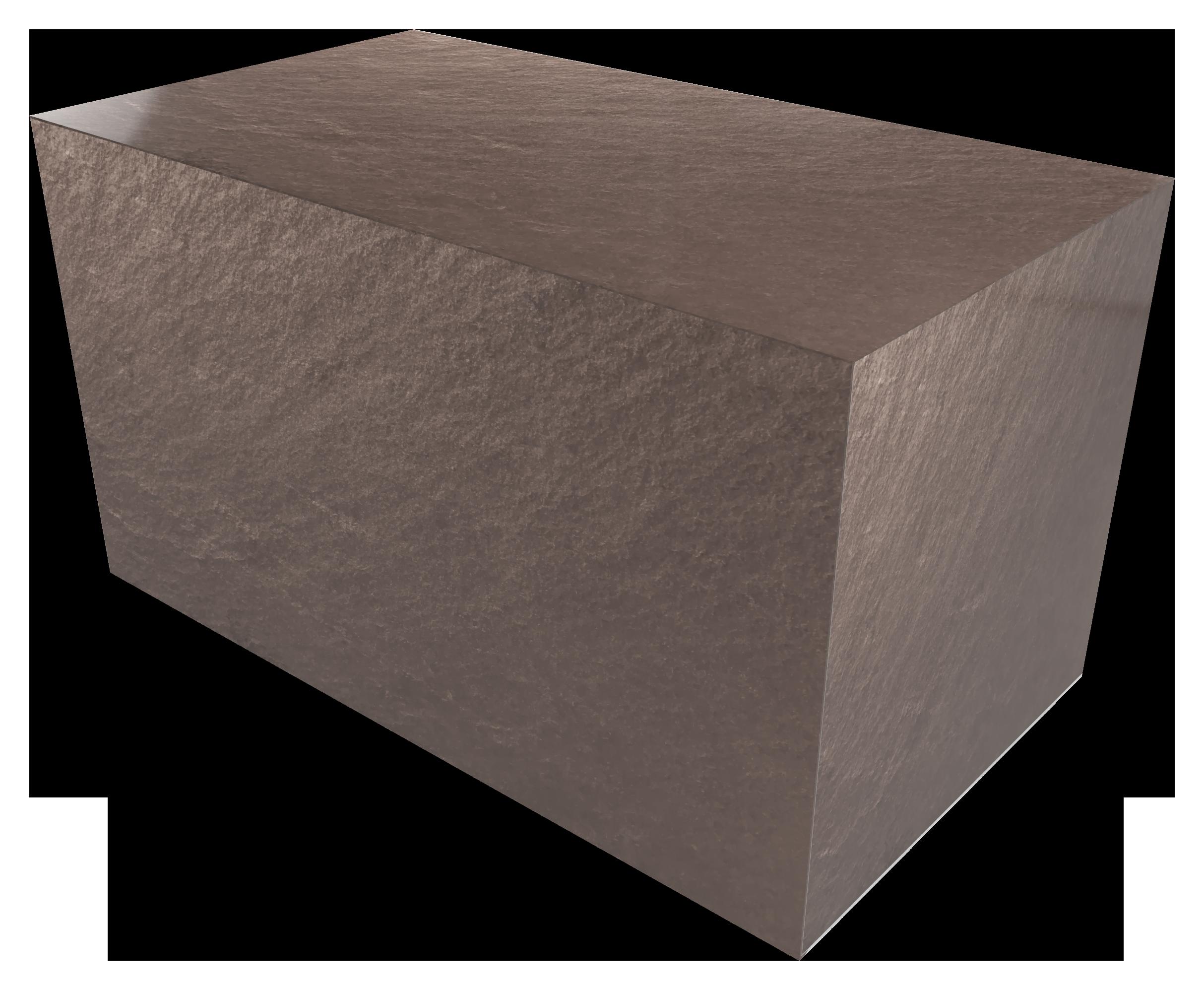 Ashes casket BROWN SLATE