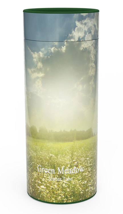 Custom Personalised Cremation Ashes Casket Urn Scenic Landscape COUNTRYSIDE