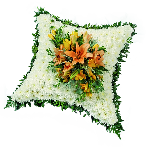 Bedded Cushion with Foliage Edge . . . starting from