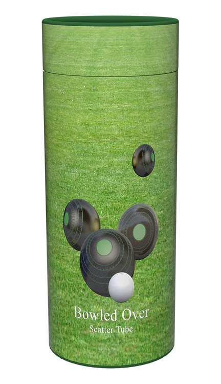 Custom Personalised Cremation Ashes Casket Urn LAWN BOWLS BOWLING WOODS