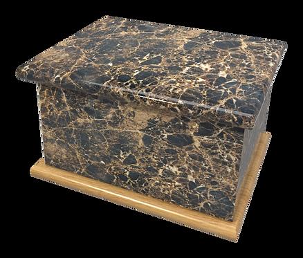 Custom Personalised Cremation Ashes Casket Urn MARBLE, GRANITE, ONYX, SLATE, WOOD
