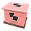 Thumbnail: Pet Ashes Casket LEATHER (CANDY)