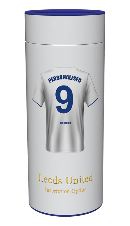 Custom Personalised Cremation Ashes Casket Urn FOOTBALL TEAM LEEDS UNITED