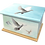 Personalised Custom Cremation Ashes Caskets and Keep-Sake Urns in a Spiritual Relgious PEACE DOVES design