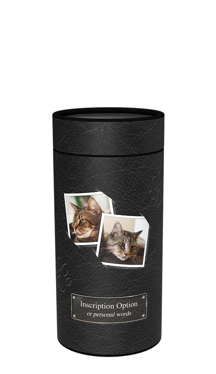Custom Personalised Cremation Pet Ashes Casket Urn Scatter Tube Animal Cat Dog