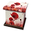 Custom Personalised Cremation Ashes Casket Urn RED POPPIES REMEMBRANCE