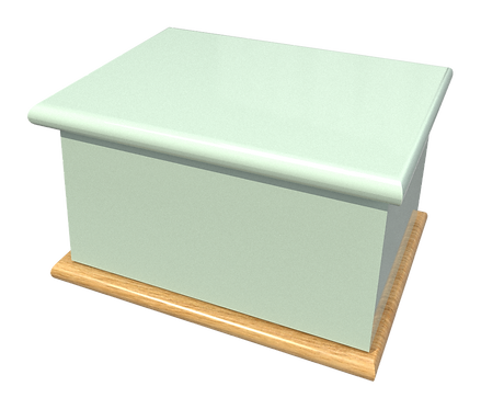 Personalised Adult and keep-Sake Cremation Ashes Caskets and Urns in a variety of colours