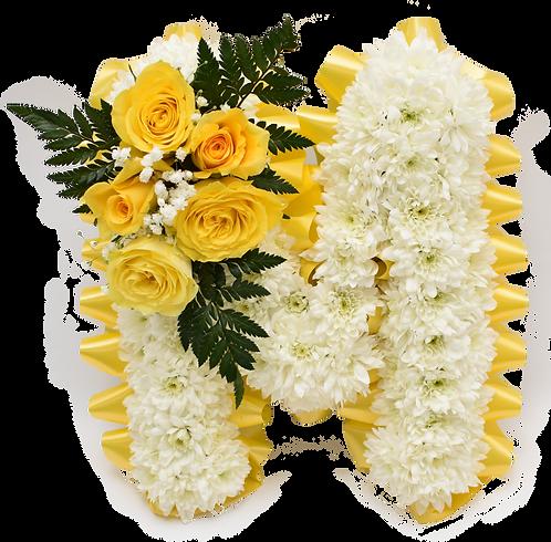 Funeral Tributes Floral Sympathy Flowers Floral Letter