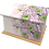 Custom Personalised Cremation Ashes Casket in FLORAL FLOWER CHRYSANTHEMUM