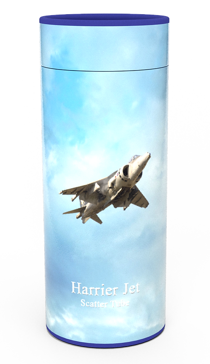 Custom Personalised Cremation Ashes Casket Urn Military Armed Service Forces HARRIER
