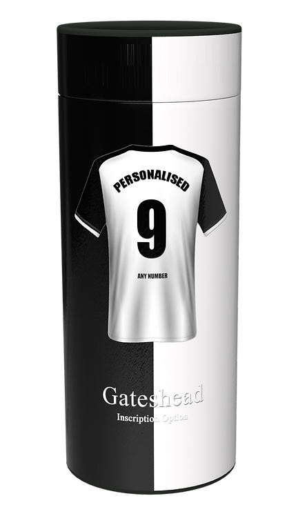 Custom Personalised Cremation Ashes Casket Urn FOOTBALL TEAM GATESHEAD