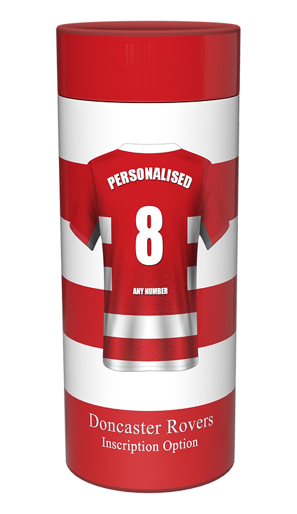 Custom Personalised Cremation Ashes Casket Urn Scatter tube DONCASTER ROVERS