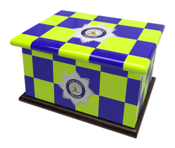 Ashes Casket POLICE FORCE (1)