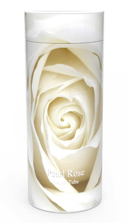 Custom Personalised Funeral Cremation Ashes Casket Urn Floral Flower Designs  PEARL ROSE