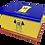 Custom Personalised Cremation Ashes Casket Urn FOOTBALL TEAM SOLIHULL MOORS
