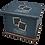 Thumbnail: Pet Ashes Casket LEATHER (ROYAL BLUE)