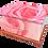 Personalised Custom FLORAL PINK ROSE Cremation Ashes Casket and Keep-Sake Urns
